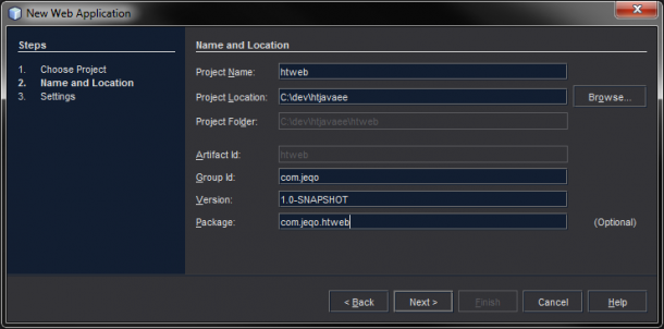 NetBeans project - 2