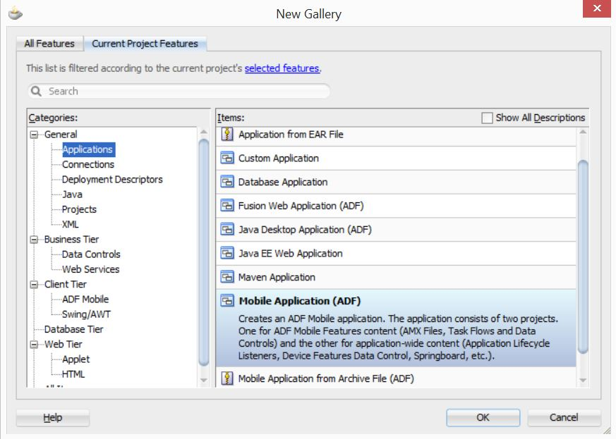 Differences between ADF Mobile and Oracle MAF in development