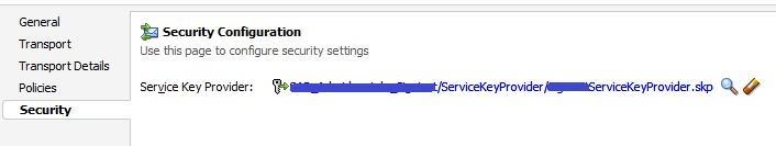 Service call with multiple levels of security in OSB 12c · Sysco